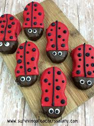 ladybug cookies bug nutter butter cookie recipe book pairing for kids