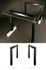 pieds de bureau design pied de table metal design tstarr fabricant de pieds table et
