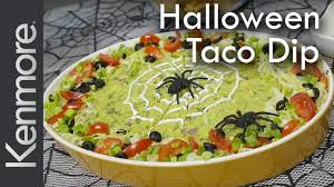spooky halloween party dip halloween food ideas from kenmore
