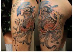 lydia dilling tattoos from hamburg watercolor sketchy