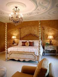 Mediterranean Furniture Style Master Bedroom Mediterranean Style With Detailed Ceiling And