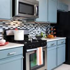 light blue kitchen backsplash photos hgtv