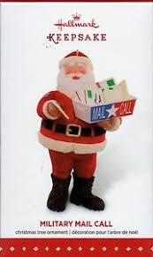 clearance mail call hallmark santa claus ornament