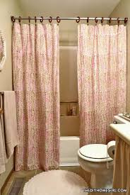 perfect apartment bathroom ideas shower curtain curtains