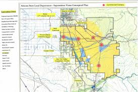 Map Of Phoenix by A 275 Square Mile Expanse Of Desert Wilderness South East Of
