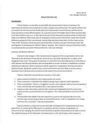 biology lab report template writing a biology lab report research abstract