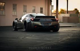 ferrari 458 liberty walk liberty walk 458 rotiform nitto cars all makes and models