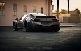 Ferrari 458 Body Kit - liberty walk 458 rotiform nitto cars all makes and models