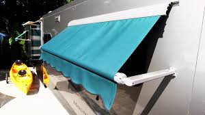 Awning Fabric For Rv How To Install An Rv Window Awning A U0026e Dometic Youtube