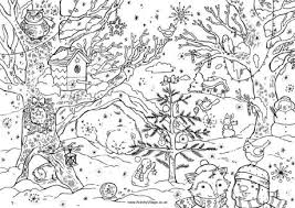 printable christmas coloring pages adults coloring