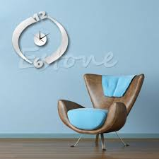 vinyl wall clock decal for decorating u2013 wall clocks