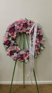 funeral ribbon beautiful wreath for my friends s funeral the ribbon writing is