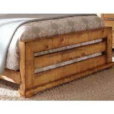 Progressive Willow Bedroom Set Distressed Pine Slat Bedroom Set