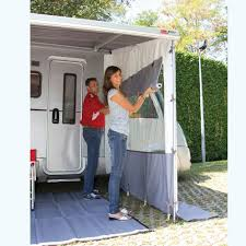 Wall Awning Caravansplus Fiamma Side W Pro End Panel With Window Suit End