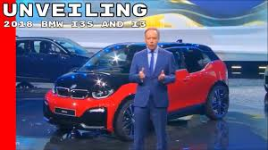 2018 bmw i3s and i3 unveiling youtube