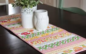 Kitchen Table Runners by Quilt As You Go Tablerunner
