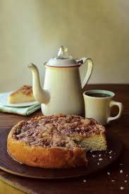sunday lunch peach coffee cake recipe from maine classics serge