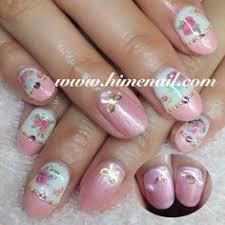 gel nails japanese nail art www himenail com tustin ca
