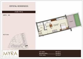 floor plans crystal residences jumeirah village circle by myra