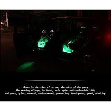 Neon Lights In Cars Interior Inextstation 4 Piece Car Atmosphere Light Led Car Interior Light