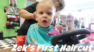 toddler u0027s first haircut vlog youtube