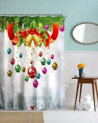 list manufacturers of christmas shower curtain buy christmas