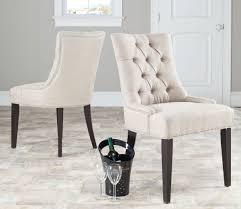 Tufted Dining Chair Set Tufted Dining Chair Set Inspiring For Home Wood Wonderful Morgana