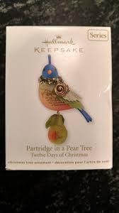 hallmark keepsakes partridge in a pear tree 1 2011 hallmark