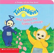 spilled tubby custard teletubbies diane muldrow