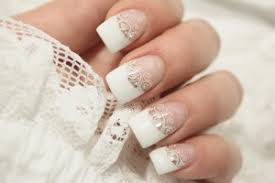 french manicure is always in nail art journal