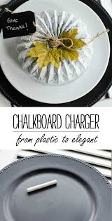 Table Setting Chargers - chalkboard chargers u0026 giving thanks it all started with paint