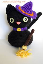 amigurumi witch pattern ravelry amigurumi halloween black cat pattern by the enchanted ladybug