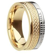 celtic wedding knot ceremony knot wedding ring ug br3