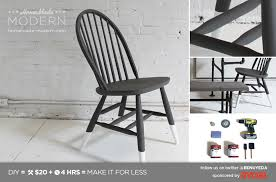 Modern Diy Furniture by Homemade Modern Ep5 Dip Dye Chair