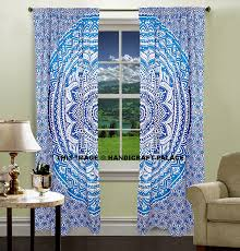 Peacock Curtains Decorating Mesmerizing Hippie Curtains Bead With Beautiful