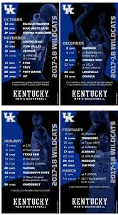 kentucky wildcats basketball 2017 18 schedule channels