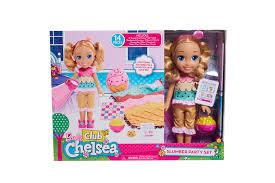 barbie club chelsea sleepover slumber party set toys