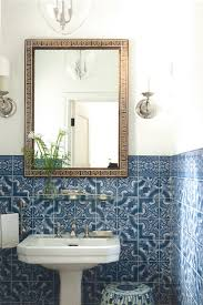 Powder Room Powell Ohio - 17 beautiful blue and white rooms to inspire you portuguese