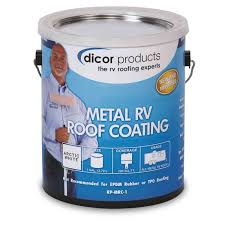 Dicor Rv Rubber Roof Coating by Dicor Elastomeric Metal Rv Roof Coating