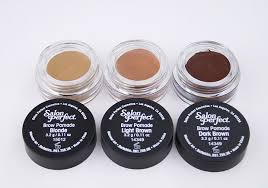 Pomade As salon brow pomade swatches and review