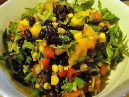cuisine mexicaine recette recette de salade mexicaine aux haricots noirs