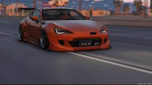 modified subaru brz brz rocket bunny v3 add on replace livery 0 1 for gta 5
