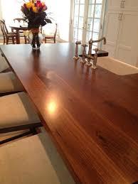 Wood Countertops Kitchen by 25 Best Walnut Countertop Ideas On Pinterest Wood Countertops