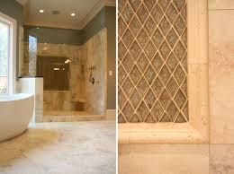 unique travertine tile bathroom ideas home design