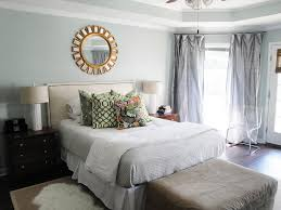 Grey Cream And White Bedroom Bedroom Gray Wooden Laminate Floor White Innerspring Mattress