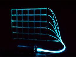 fiber optic light strands 42 strand side glow fiber optic lighting cable ebay