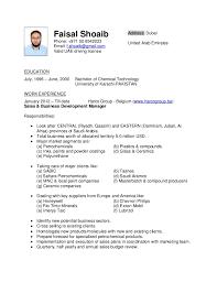 Clerical Job Resume by Resume Faisal Shoaib
