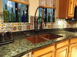 copper backsplash tiles for kitchen in x in traditional 1
