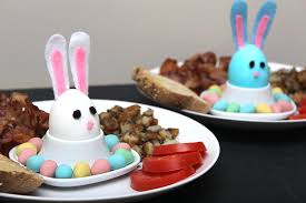 How To Decorate Boiled Eggs For Easter Diy Easter Bunny Hard Boiled Eggs U2014 Xfallenmoon
