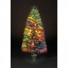 decorating breathtaking fiber optic christmas tree with sparkling
